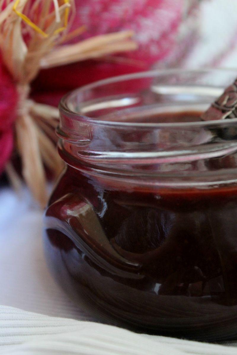 Nutella ze śliwek z imbirem i cynamonem