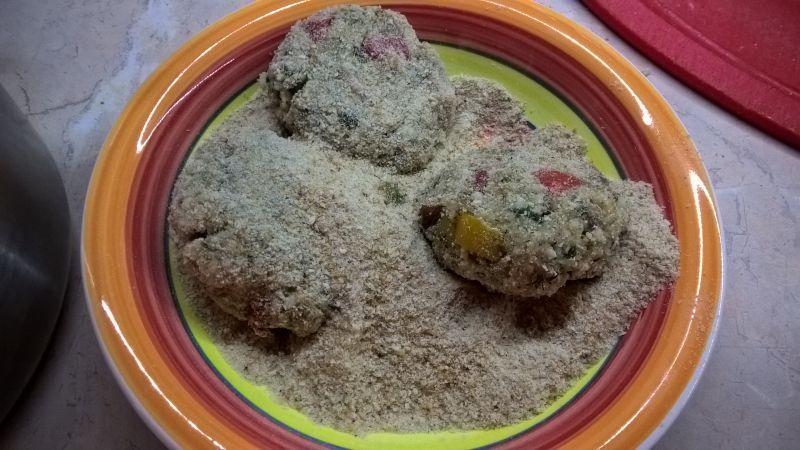 Obiadowe kotleciki z kaszy bulgur