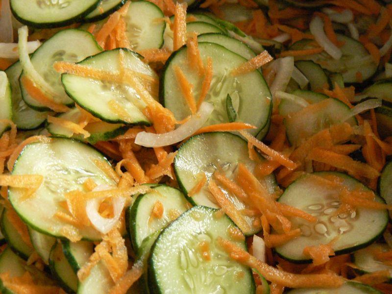 Ogórki z marchewką