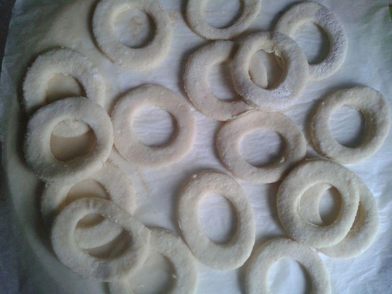 Oponki serowe z wanilią