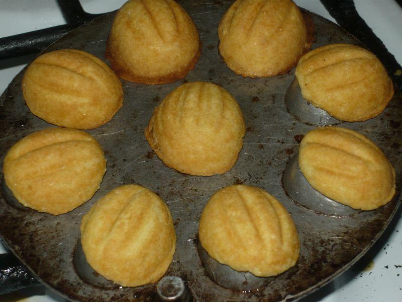Orzeszki z nadzieniem kokosowym