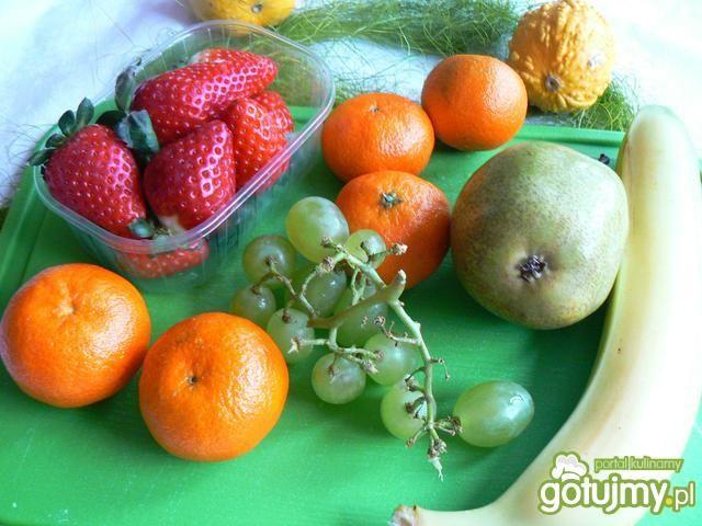 Owocowy raj podniebienia z orzechami