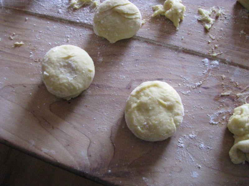 Pączki z nutą ziemniaczaną