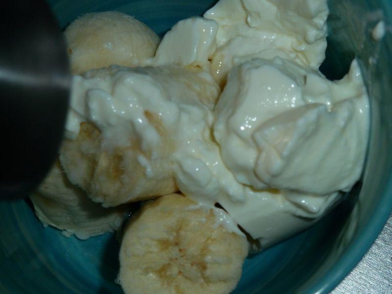 Pączuszki serowe z bananowym nadzieniem