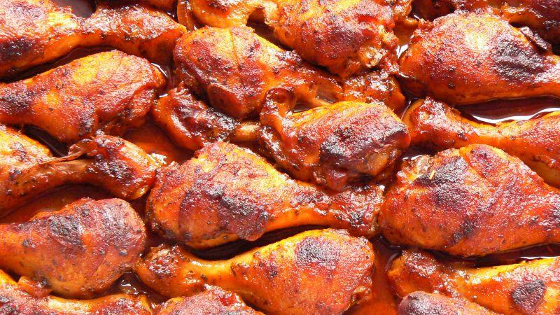 Pałki z kurczaka w ketchupie
