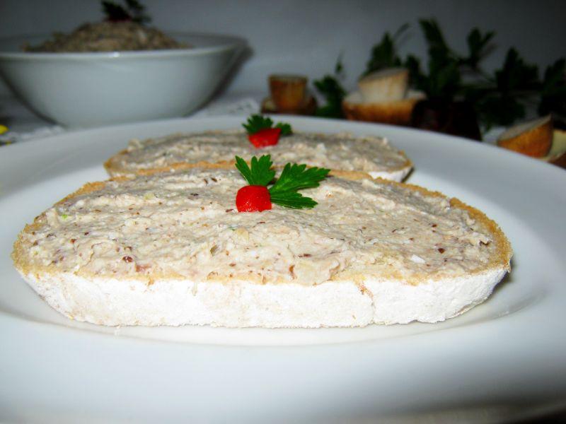 Pasta grzybowa do pieczywa