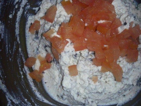 Pasta kanapkowa z serka ricotta