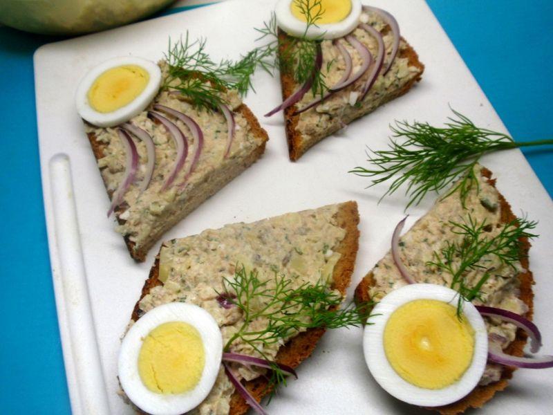 Pasta z makreli.