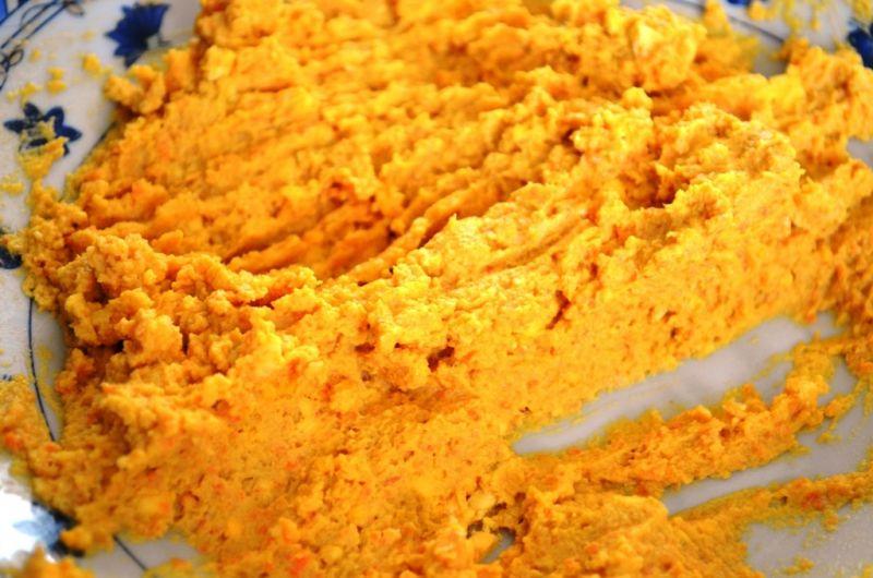 Pasta z makreli i marchwi