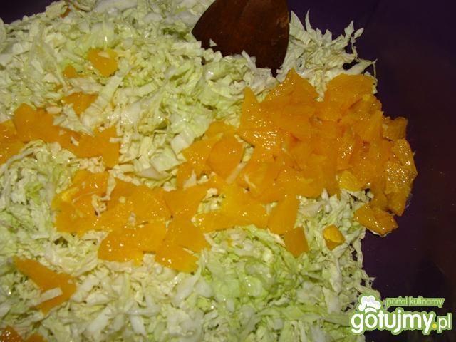 Pekinka z pomarańczą