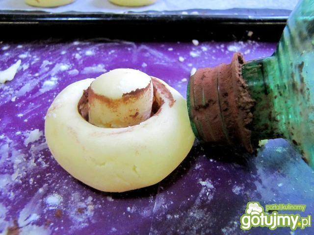 Pieczarki - ciastka z mąki ziemniaczanej