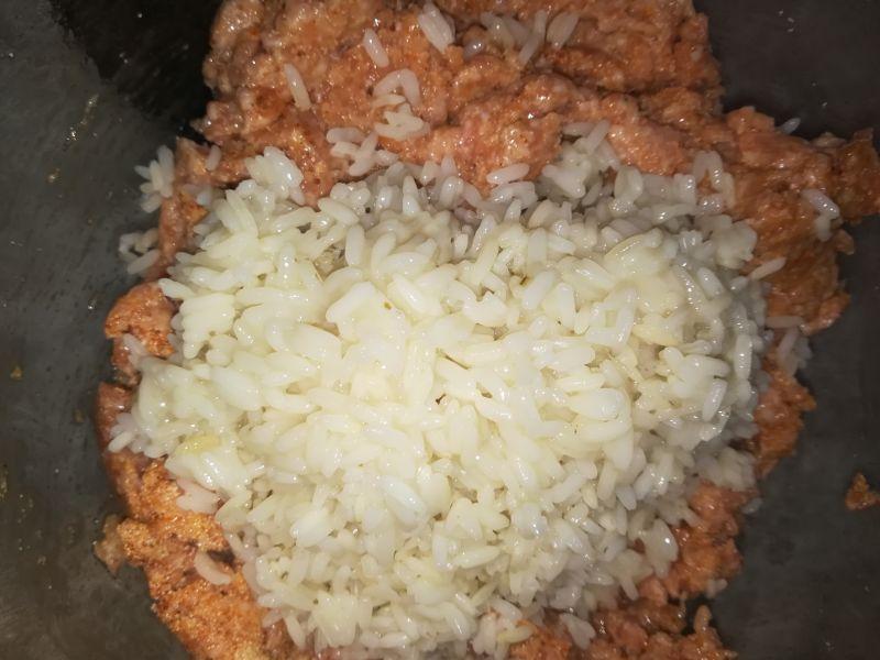 Pieczeń wieprzowa z ryżem