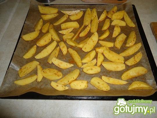 Pieczone aromatyczne ziemniaki