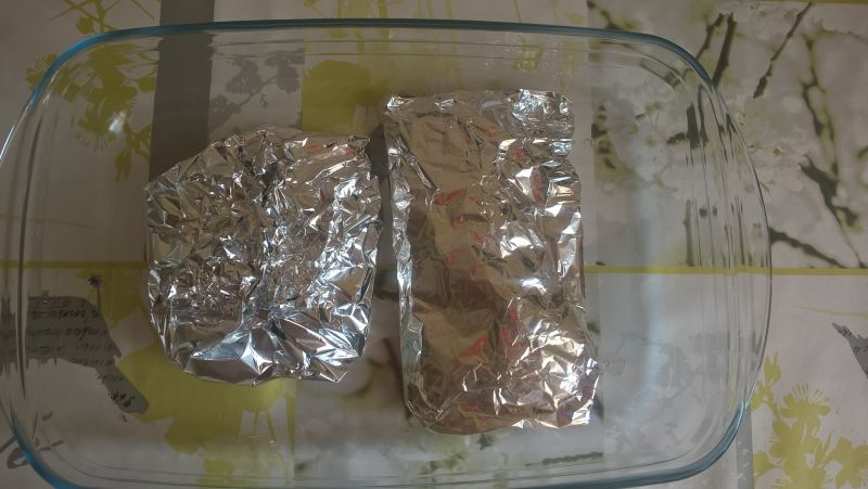 Pieczone filety z pstrąga tęczowego w marynacie