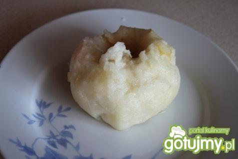 Pieczone jabłka na ciepło