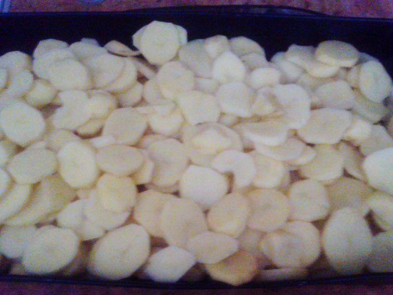 Pieczone talarki ziemniaczane