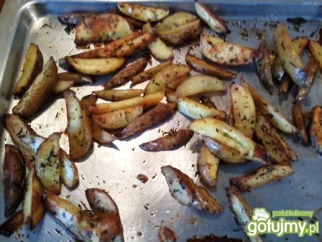 Pieczone ziemniaki na ostro