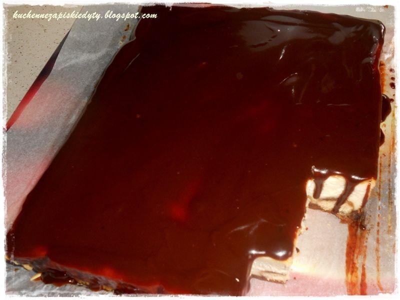 Pieczony sernik tiramisu