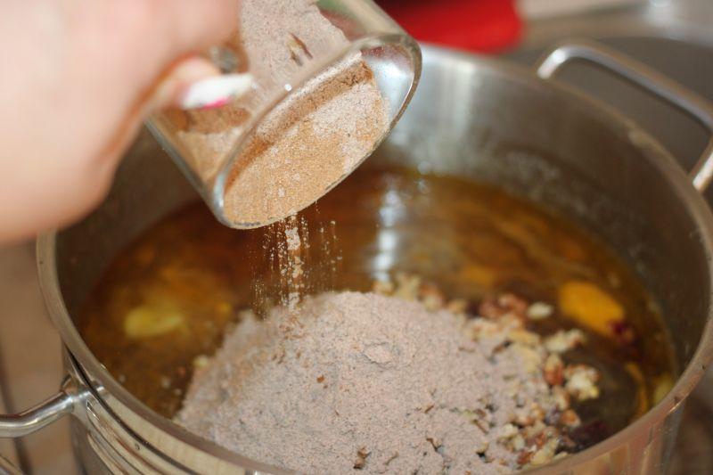Piernik staropolski - nastawienie ciasta