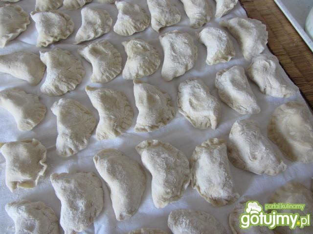 Pierogi ruskie z serem