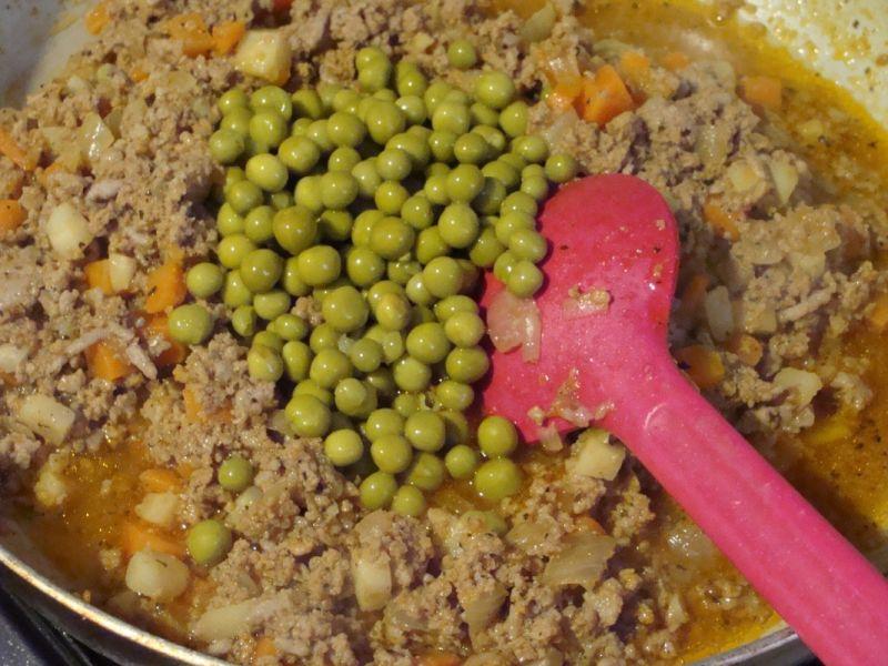 Pierogi z mięsem i warzywami
