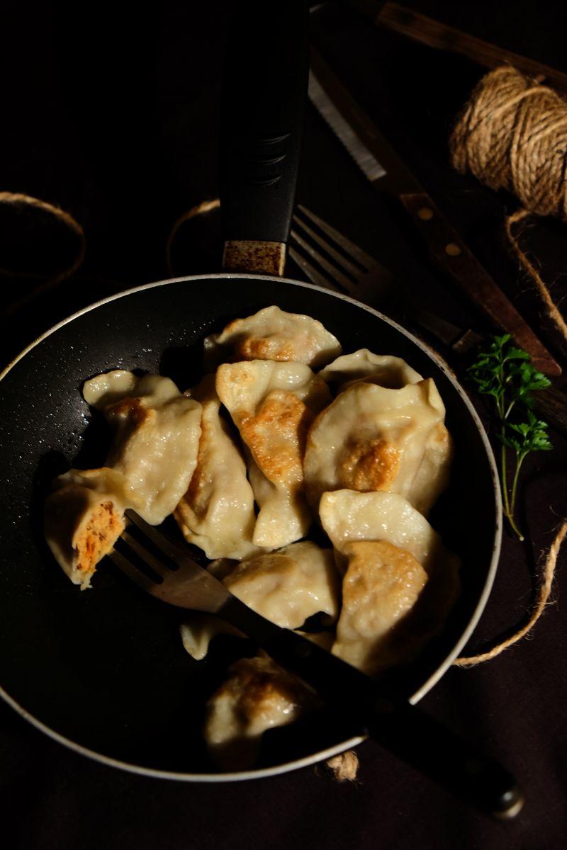 Pierogi z mięsem z rosołu i włoszczyzną Hortex