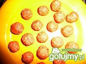Pikantne kuleczki z mielonego