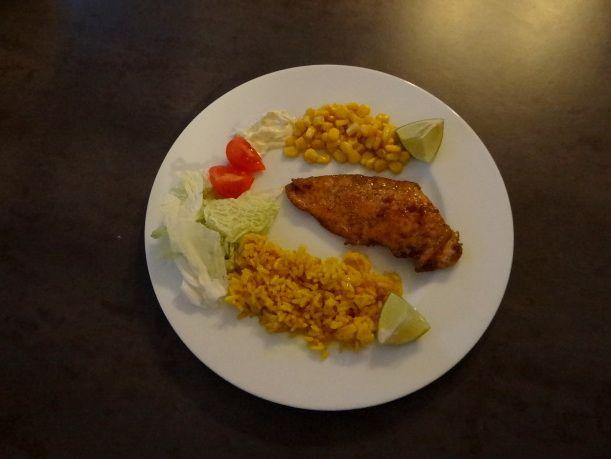 Pikantny kurczak z limonką