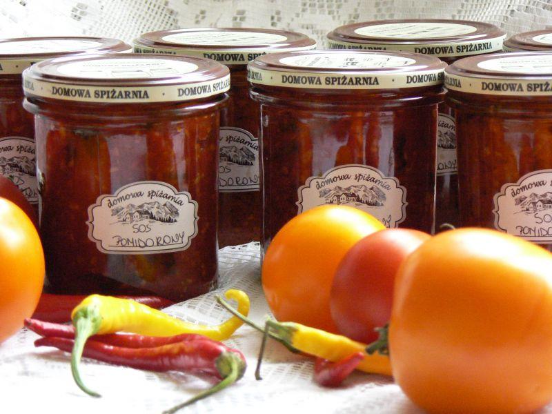 Pikantny sos pomidorowy