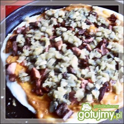 Pizza hawajska wg Noruas