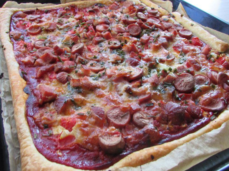 Pizza po domowemu
