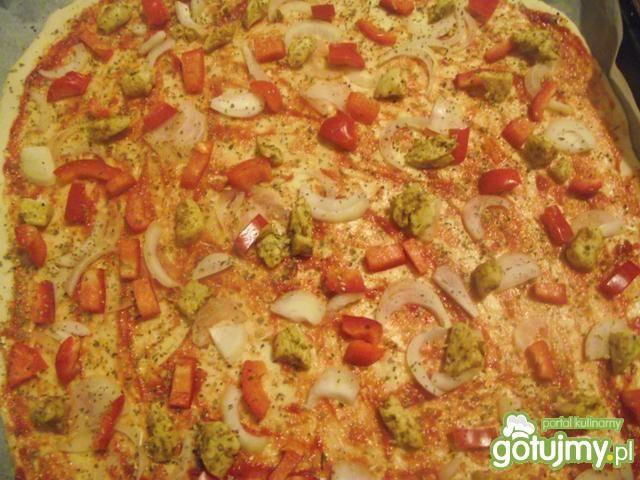 Pizza z gyrosem według mojego przepisu