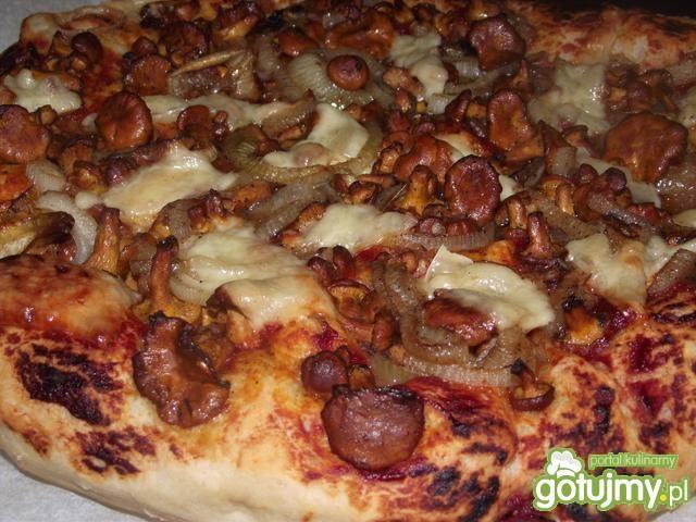 Pizza z kurkami