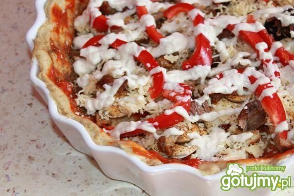 Pizza z mąki żytniej