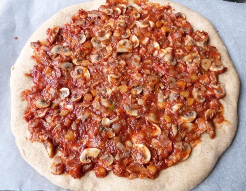 Pizza z warzywami