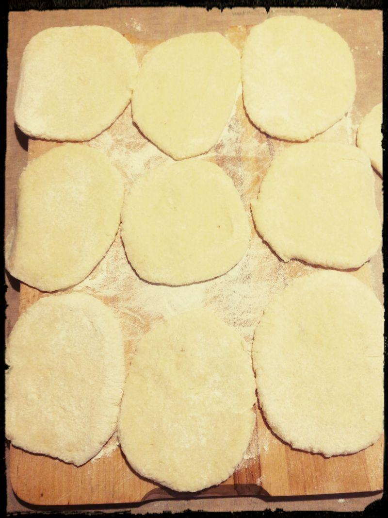 Placki z gotowanych ziemniaków