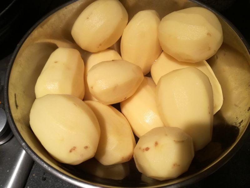 Placki ziemniaczane na ostro bez mąki