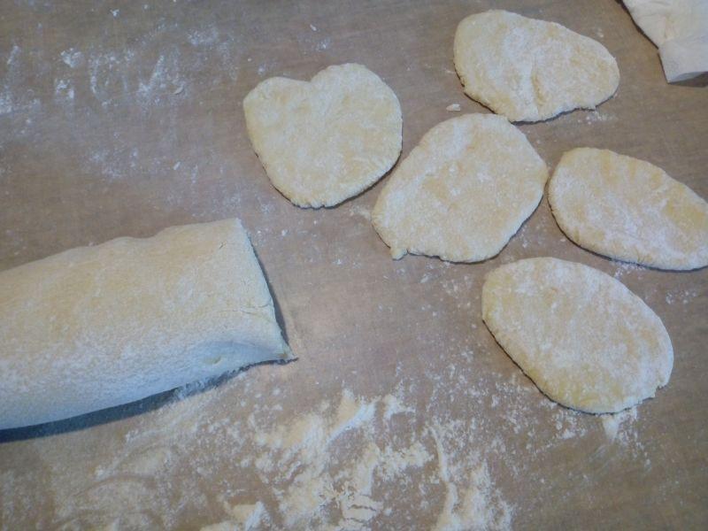 Placki ziemniaczane z gotowanych ziemniaków