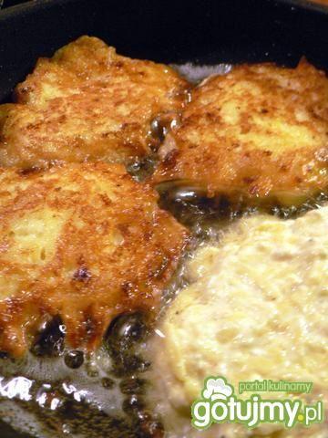 Placki ziemniaczane z serem białym