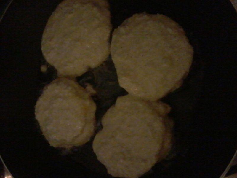 Placuszki jabłkowo-kokosowe