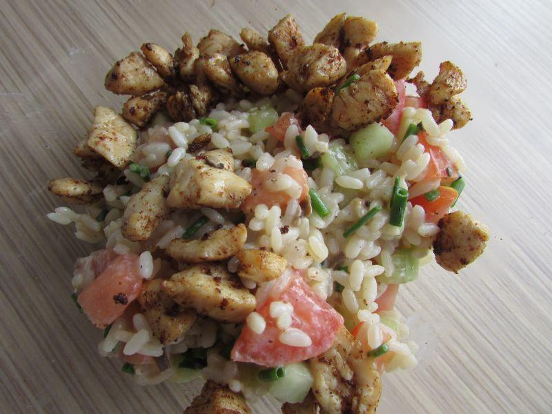 Placuszki z ryżem