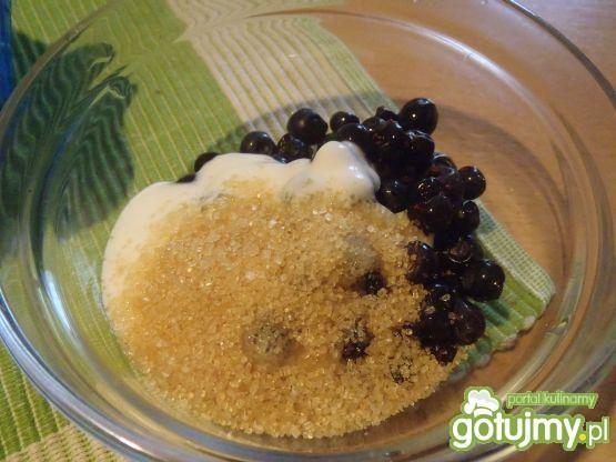 Płatki ryżowe z jagodami