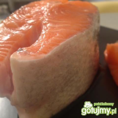 Podstawowy przepis na łososia