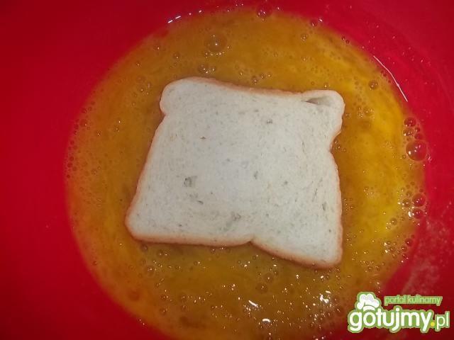 Podwójnie jajeczne tosty