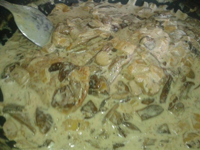 Polędwiczka wieprzowa w sosie grzybowym