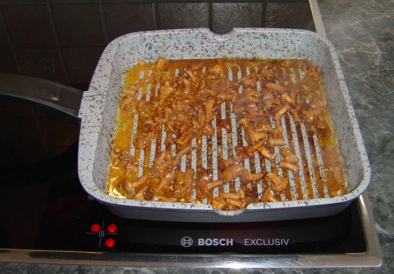 Polędwiczki marynowane z blanszowaną marchewką