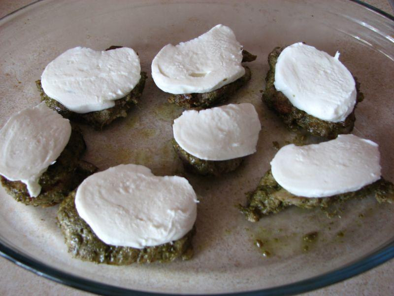 Polędwiczki wieprzowe marynowane w Pesto