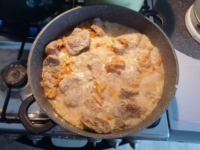 Poledwiczki wieprzowe w sosie kurkowym