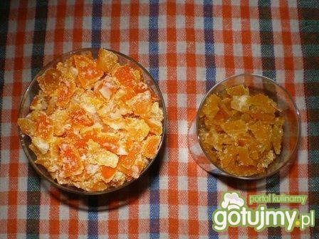 Pomarańczowa skórka smażona