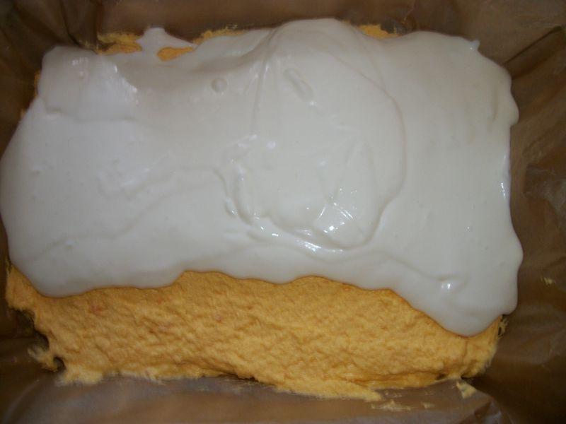 Pomarańczowe ciasto Kubuś